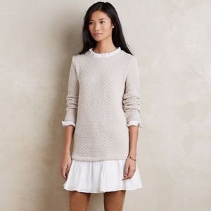 Sundays in Brooklyn Anthropologie sweater dress